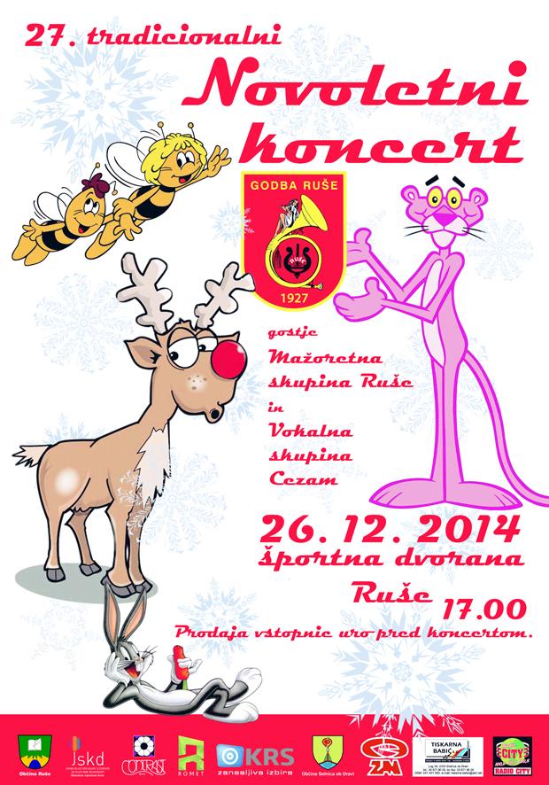 novoletni koncert 2014 plakat